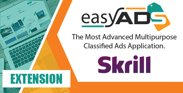 CodeCanyon EasyAds integration with Skrill 21050704