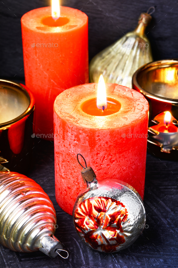 christmas holiday decorations - Stock Photo - Images