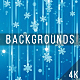 Snowflakes Blue Backgrounds - VideoHive Item for Sale