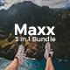 3 in 1 Maxx Bundle Creative Keynote Template