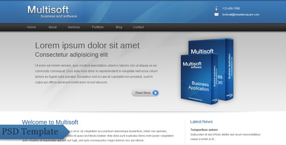 Multisoft – Bussiness and Software Clean Template