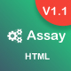 Assay - Responsive Bootstrap 4 Admin Template + UI Kit