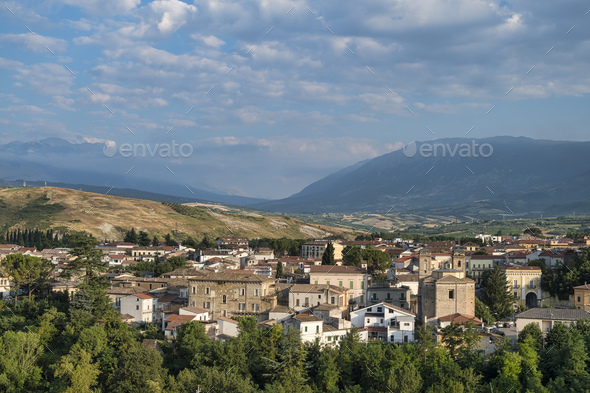 Torre de Passeri (Pescara, Abruzzi, Italy) - Stock Photo - Images