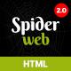 Spiderweb - Personal Portfolio Template