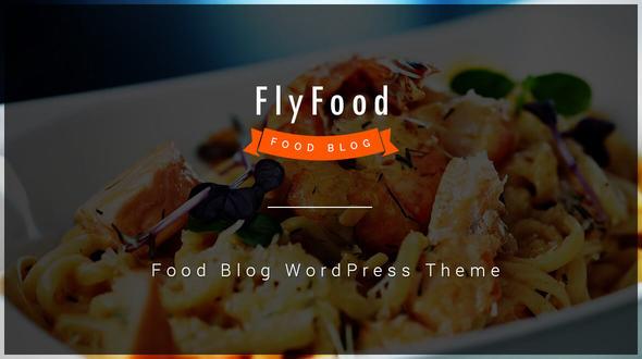 Image of FlyFood - Blog and Food WordPress Theme