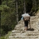 Porter Is Carrying a Cargo in the Himalayas - VideoHive Item for Sale