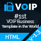 VOIP | Responsive HTML5 Multipurpose VOIP & Virtual Phone Business Template - ThemeForest Item for Sale