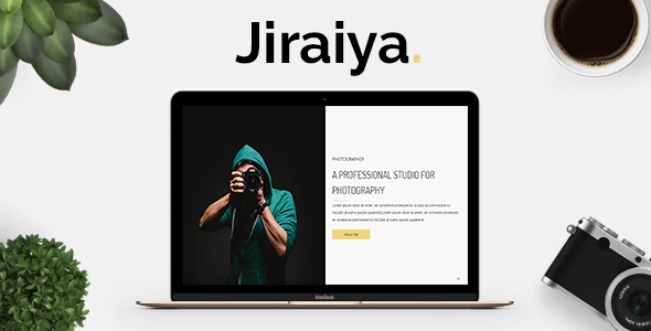 Jiraiya - Simple vCard Resume Template - Personal Site Templates