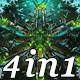 Crystal Snowflakes - VJ Loop Pack (4in1) - VideoHive Item for Sale
