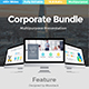 3 in 1 Corporate Bundle Business Powerpoint Template