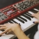 Hands Playing Piano - VideoHive Item for Sale