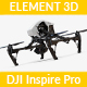 DJI Inspire - Element 3D - 3DOcean Item for Sale