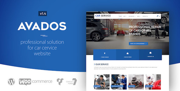 Avados - Car Service WordPress Theme - Business Corporate