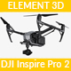 DJI Inspire 2 - Element 3D - 3DOcean Item for Sale