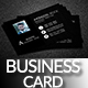 Corporate  Black  Business Card - GraphicRiver Item for Sale
