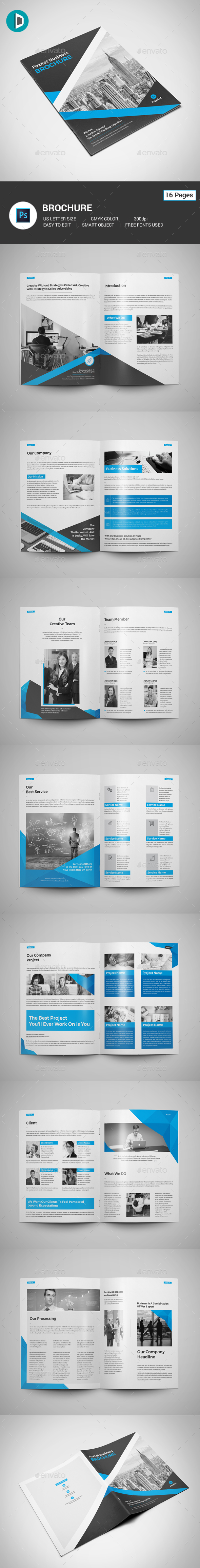 GraphicRiver Brochure 21110308