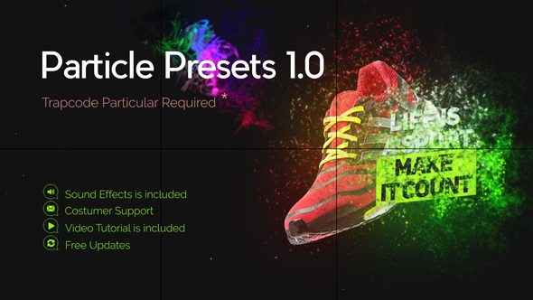 VideoHive Particle Presets 21110458