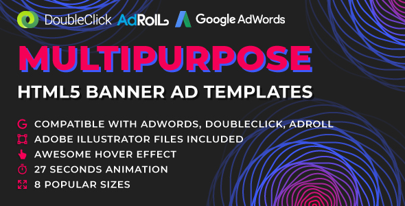 Orion - Multipurpose HTML5 Banner Ad Templates GWD Free Download | Nulled