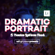15 Dramatic Portraits Lightroom Presets