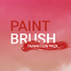 Paint Brush Transitions Pack - VideoHive Item for Sale