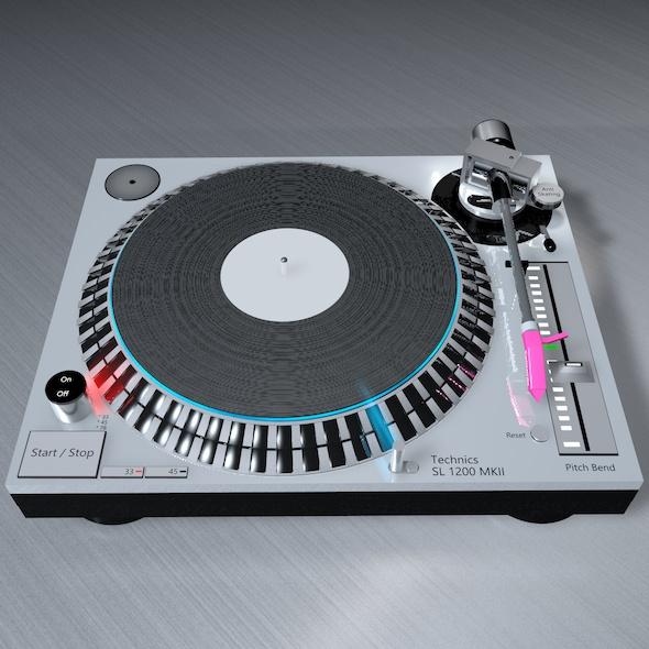 3DOcean DJ Consol Technics SL 1200 MK5 21110881
