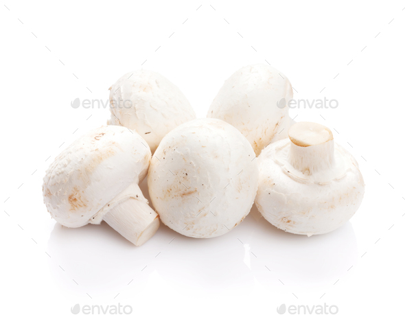 Champignon mushrooms - Stock Photo - Images