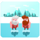 New Santa Run + iOS + Unity Source Project + Admob Banner & Interstitial + Share & Rating Button