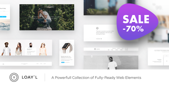LOAY`L | Multipurpose HTML with Page Builder - Creative Site Templates