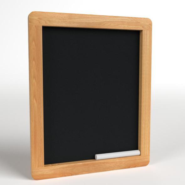 3DOcean Wood Chalkboard frame 21111192