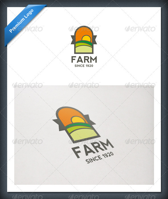 Farm and Landscape Logo Template - Nature Logo Templates