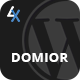 Domior - Creative Personal Portfolio WordPress Shop Theme
