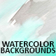 Set of 8 hand painted watercolor background. - GraphicRiver Item for Sale