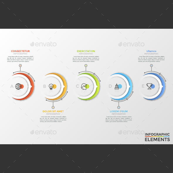 GraphicRiver Modern Circle Infographic Timeline 21111339