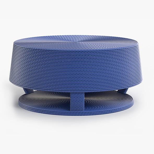 Afritamu Coffee Table - 3DOcean Item for Sale