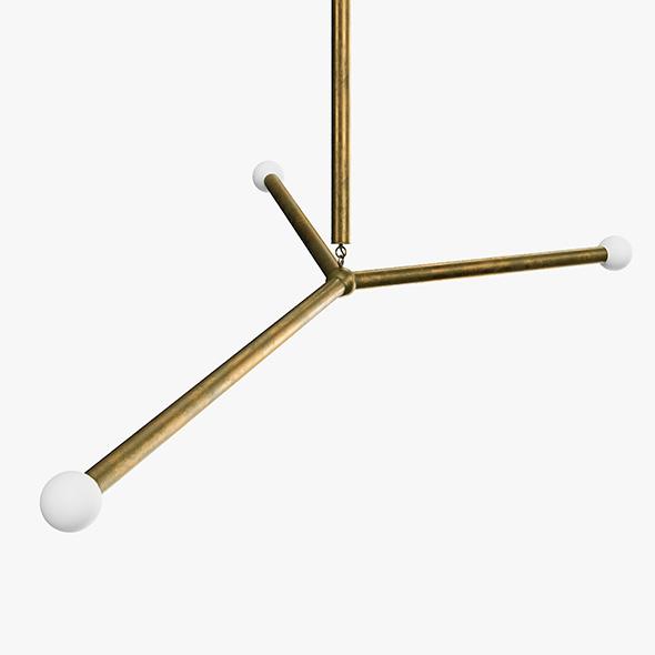 Apparatus Arrow Large Light Fixture - 3DOcean Item for Sale