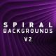 Spiral Backgrounds V2 - VideoHive Item for Sale
