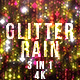 Red Glitter Rain - VideoHive Item for Sale