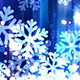 Abstract Royal Blue Christmas Snowflakes Abstract Background - VideoHive Item for Sale