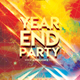 Year End Party Flyer Template