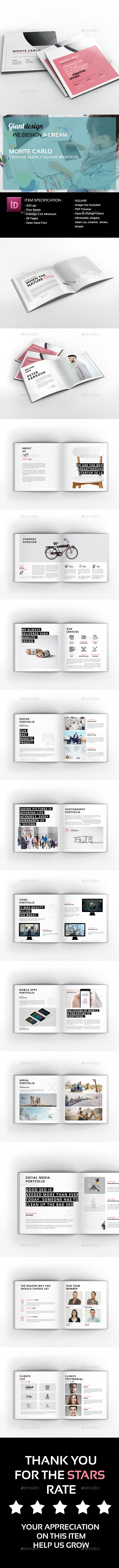 GraphicRiver Monte Carlo Creative Agency Brochure 21112201