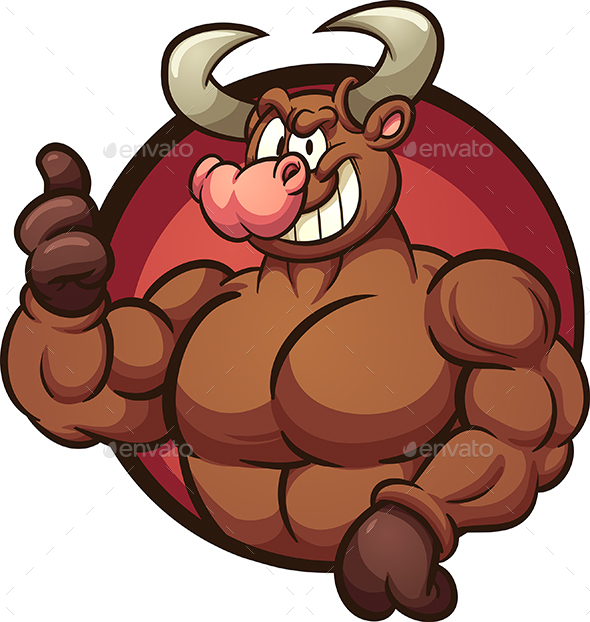 Strong Bull - Animals Characters