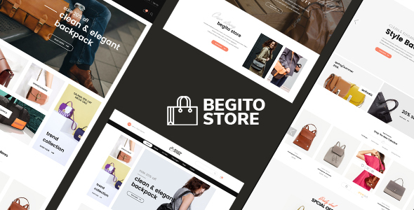 ThemeForest Begito Bag Store Responsive Prestashop 1.7 Theme 21112225