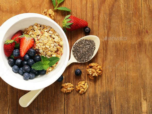 Healthy Breakfast  - Stock Photo - Images