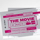 Cinema Ticket/Movie ticket/Event Ticket