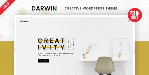 Darwin | Creative WordPress Theme