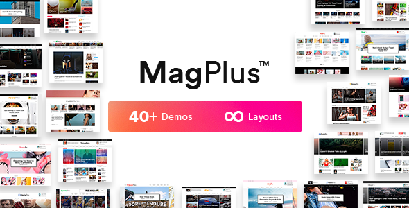 Blog & Magazine WordPress theme - MagPlus