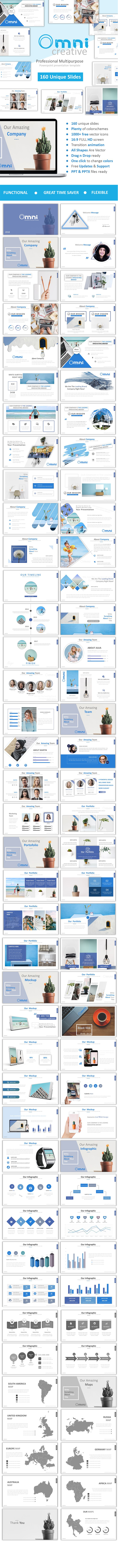 GraphicRiver Omni Creative Powerpoint 21112632