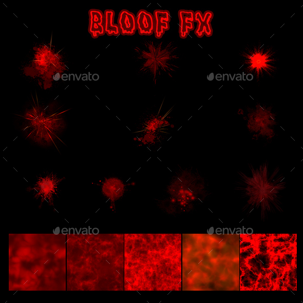 GraphicRiver Blood Effects 21112797