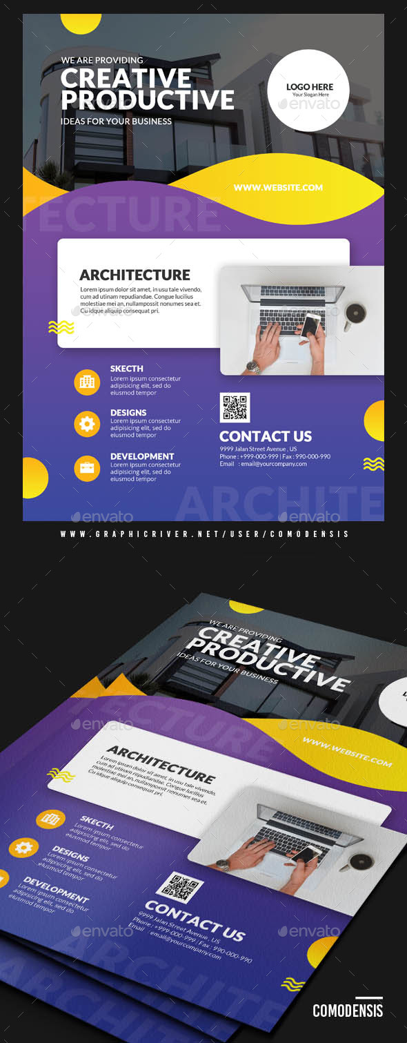 GraphicRiver Creative Design Flyers 21112931