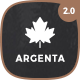 Argenta - Creative Multipurpose WordPress Theme - ThemeForest Item for Sale